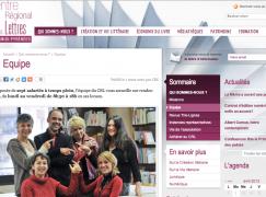 Copie écran site du crl-mp