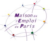 logo maison de l'emploi de Paris (75)