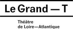 logo théâtre le grand T
